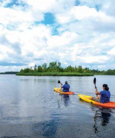 Kayak d'eau Calme