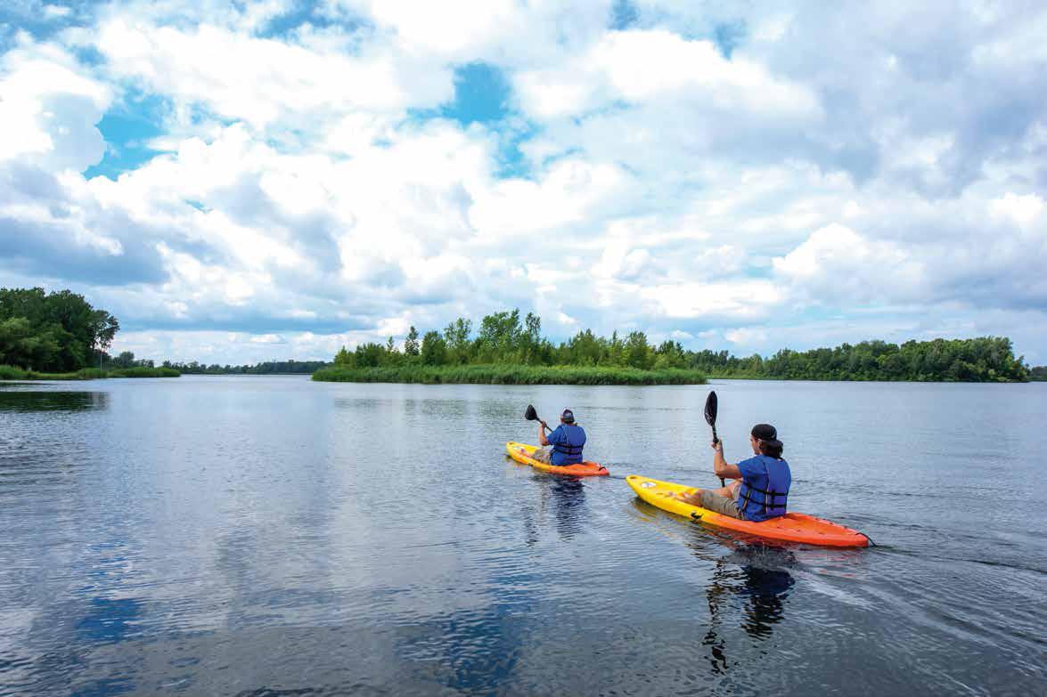 Lake Water Kayak