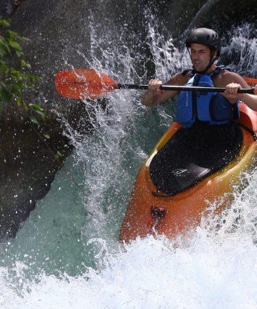 Kayak d'eau Vive