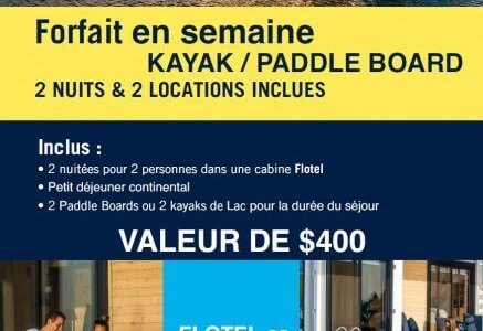 Package Kayak | Paddle Board Weekdays to print