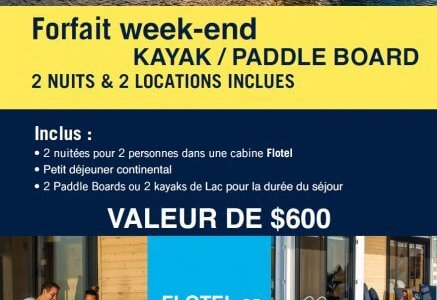 Package Kayak | Paddle Board Week-end to print