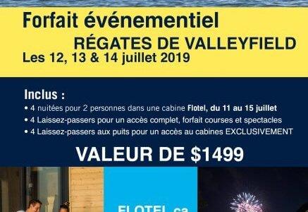 Forfait Régates 2019