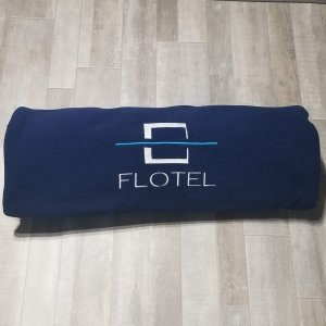 Polar Fleece Flotel Blanket