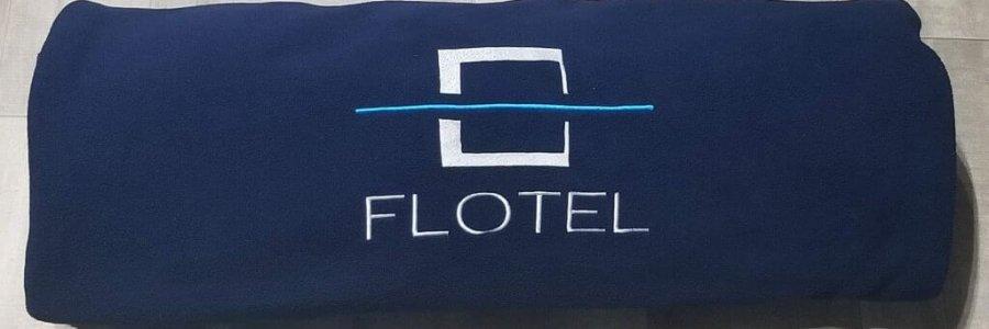 Polar Fleece Flotel Blanket